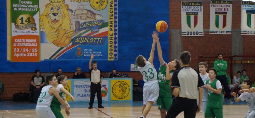 CEFA BASKET CASTELNUOVO:  perde ma rimane alla guida del girone