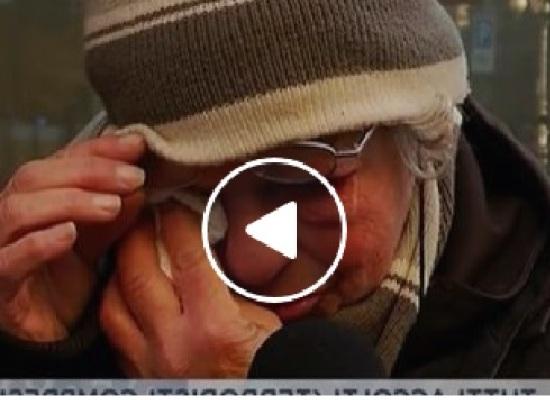 2 DONNE ITALIANE VIVONO E DORMONO PER STRADA AL FREDDO: IL VIDEO CHE FA  VERGOGNARE LA POLITICA ITALIANA