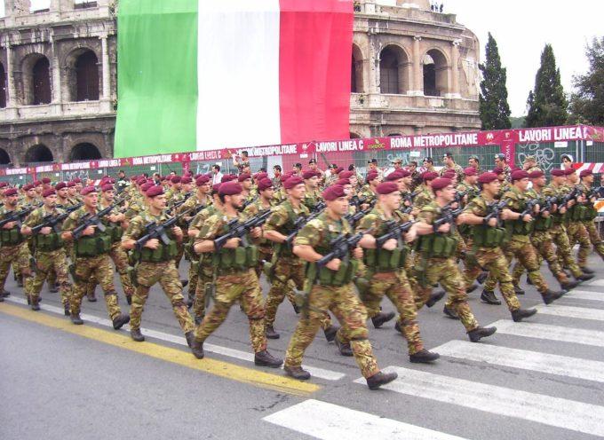 L'ITALIA SPENDE 64 MILIONI AL GIORNO IN ARMI E MILITARI