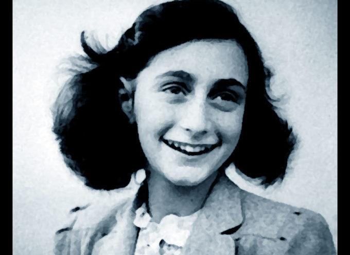"""18 gennaio – inaugurazione mostra """"Anna Frank una storia attuale"""""""