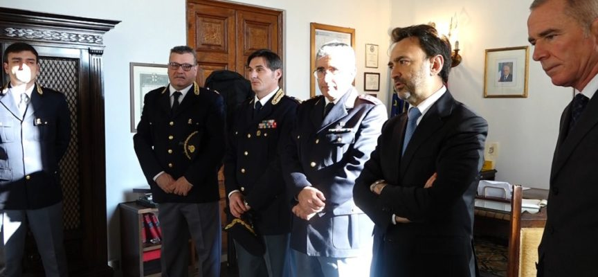 Lucca, presentati tre nuovi dirigenti della Questura