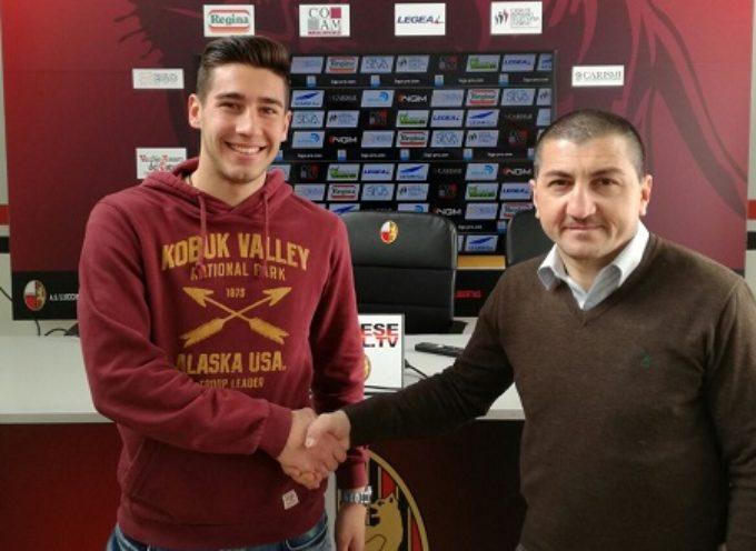 L'attaccante Simone Raffini è un nuovo calciatore rossonero