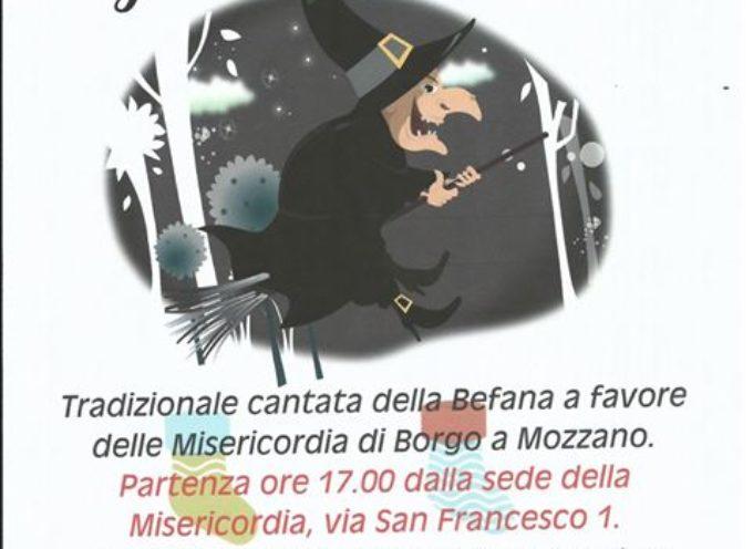 Arriva la Befana a Borgo a Mozzano