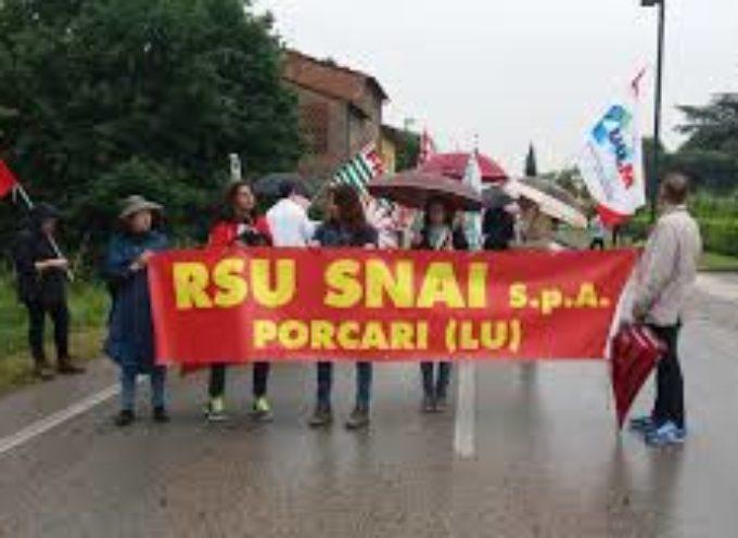 """PORCARI – """"Snai/Inps: per i lavoratori non solo il danno (incalcolabile) ma anche la beffa (calcolabilissima)""""."""