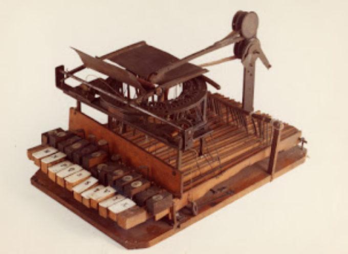 La macchina da scrivere, un'invenzione a due mani fra un garfagnino e un lunigianese