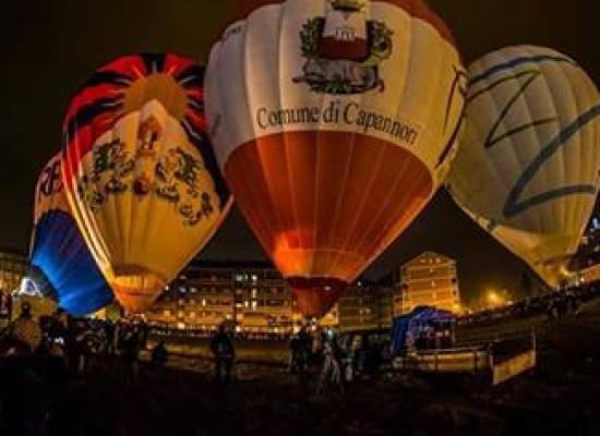 La mongolfiera del Comune di Capannori parteciperà  al 29° Raduno Aerostatico Internazionale 'Città di Mondovì'.