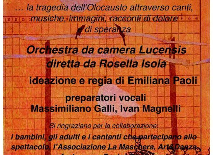 """LUCCA – Giorni della Memoria e del Ricordo: il 27 gennaio lo spettacolo """"Per non dimenticare"""""""