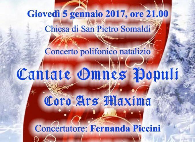 Giovedì 5 gennaio nella Chiesa di San Pietro Somaldi a Lucca Concerto di Befana: