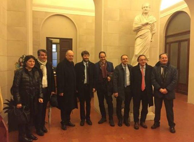 lucca – la visita dei ministri, Franceschini e Orlando