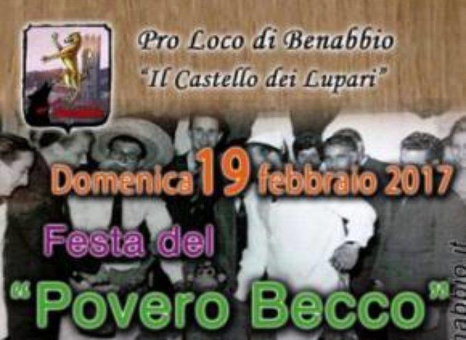 Festa del Povero Becco a Benabbio .. Bagni di Lucca