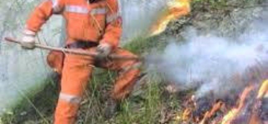 Incendio boschivo in corso – a bagni di lucca