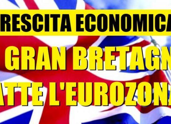 LA GRAN BRETAGNA FUORI DALL'EURO? CRESCE PIU' DELLA GERMANIA! MA GUAI A DIRLO