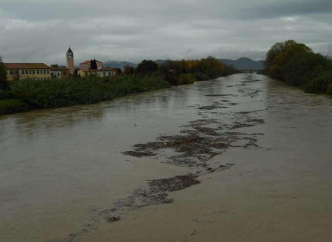 Piogge intense, tra i fiumi in Toscana anche il Serchio sorvegliato speciale