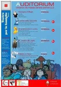 Teatro per le famiglie Locandina