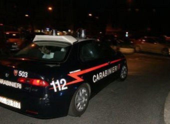 i  ladri ieri sera  ad Altopascio. inseguiti dai carabinieri  fuggono nei cambi