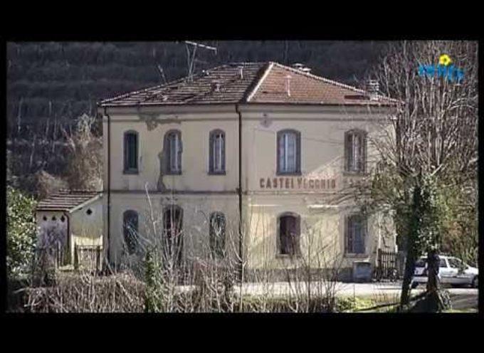 Appello per salvare dal degrado la stazione di Castelvecchio[video]