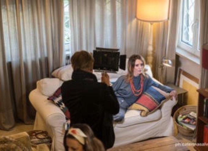 Modelle d'eccezione con Emma Morton per la nuova collezione della casa di moda lucchese Edda Berg
