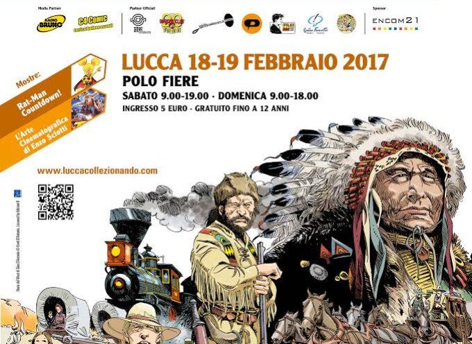 LUCCA – COLLEZIONANDO 2017- fumetti e altre avventure di carta