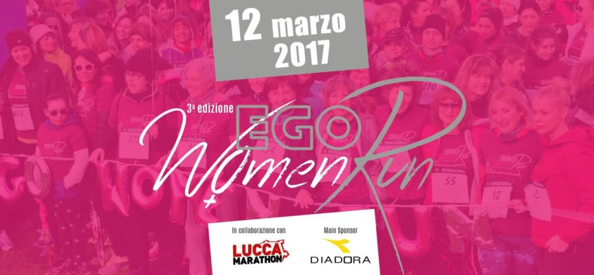 EGO WOMEN RUN 2017, TUTTE PRONTE AL VIA…