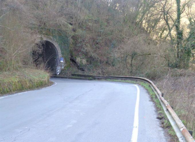 """Giannini scrive alla Provincia: """"Il traffico dei camion sotto le gallerie sta diventando un problema sempre più grave""""."""