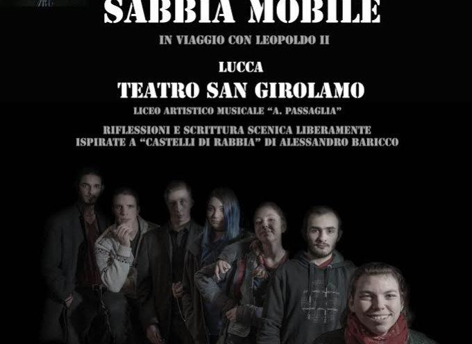 LUCCA TEATRO –  LO SPETTACOLO SABBIA MOBILE