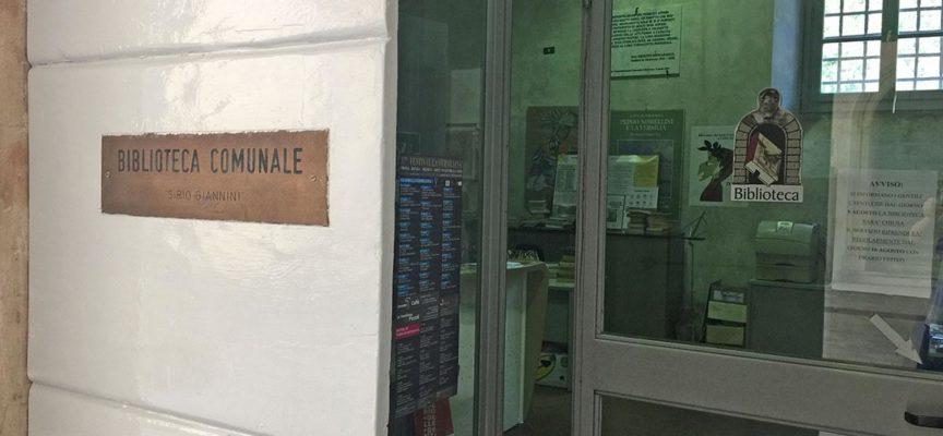 LA BIBLIOTECA COMUNALE SUPERA IL TRAGUARDO DEI 1600 UTENTI