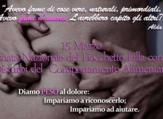 Giornata del Fiocchetto Lilla, disturbi alimentari per 3 milioni di italiani