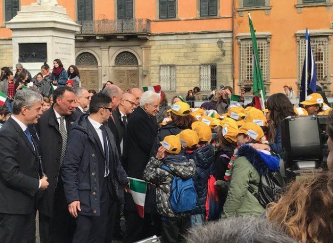 Mattarella a Lucca ricorda Maria Eletta Martini: il benvenuto del sindaco e del presidente della Regione