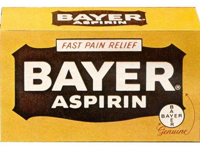 Accadde oggi, 6 Marzo 1899: La Bayer registra l'aspirina
