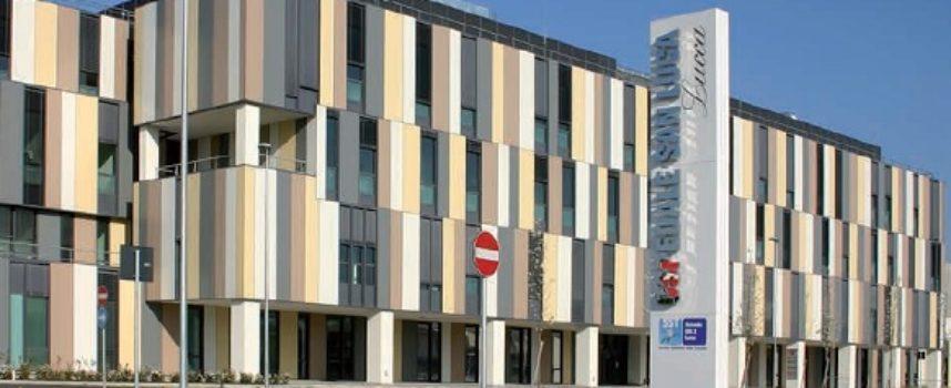 Ospedale San Luca: in corso lavori di ristrutturazione del pavimento della cucina;