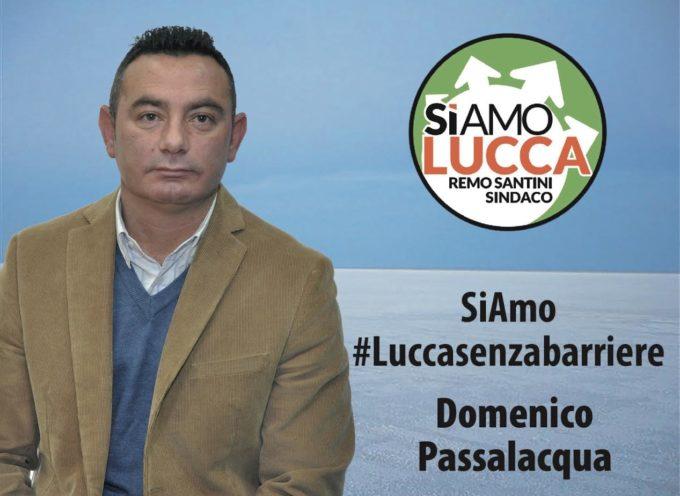 Domenico Passalacqua presenta la sua candidatura in SiAmo Lucca e il suo impegno a favore dei disabili.