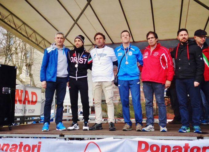 Simone Pierotti del G.S. Orecchiella è medaglia di bronzo ai regionali di mezza maratona