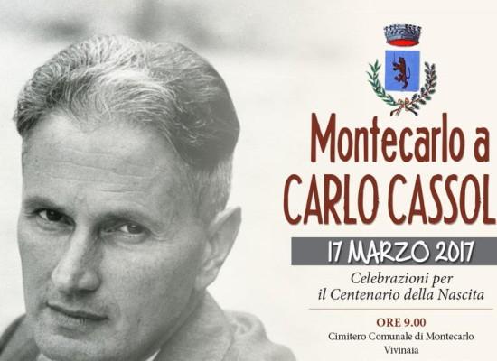 MONTECARLO CELEBRA IL CENTENARIO DELLA NASCITA DI CARLO CASSOLA