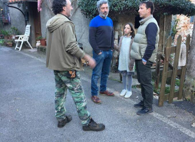 Remo Santini inizia la campagna elettorale visitando Formentale, frazione più piccola di Lucca.