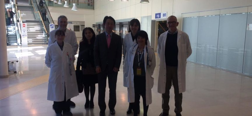 Delegazione dell'Ambasciata del Giappone al San Luca