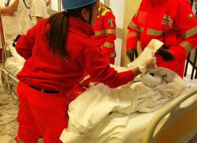 Esercitazione con evacuazione (simulata) di pazienti giovedì 16 marzo all'ospedale di Castelnuovo Garfagnana