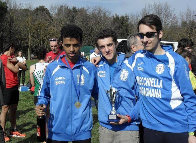 Gli Juniores del G.S. Orecchiella conquistano il bronzo ai regionali di cross