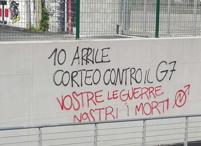 """Alleanza per Lucca: """"Il sottopasso di via Ingrellini imbrattato dall'estrema sinistra a cui Tambellini dà il Foro Boario"""""""