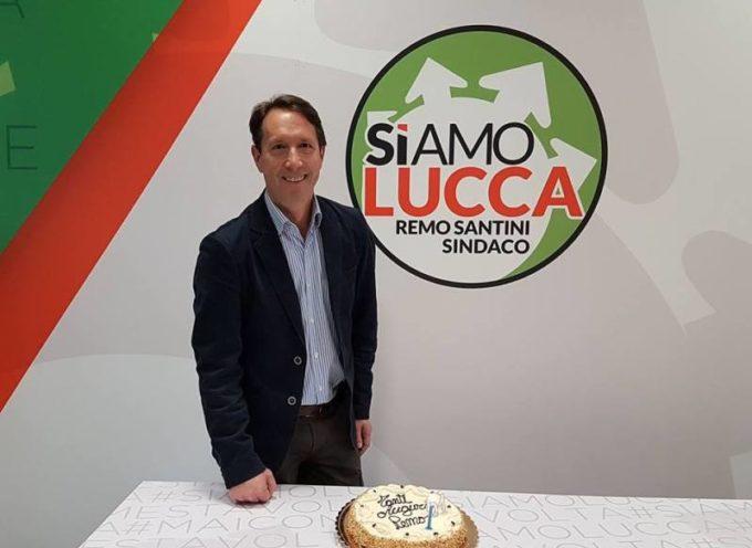 Magdi Cristiano Allam a Lucca a sostegno di Remo Santini. Lo scrittore e giornalista invitato da Forza Italia