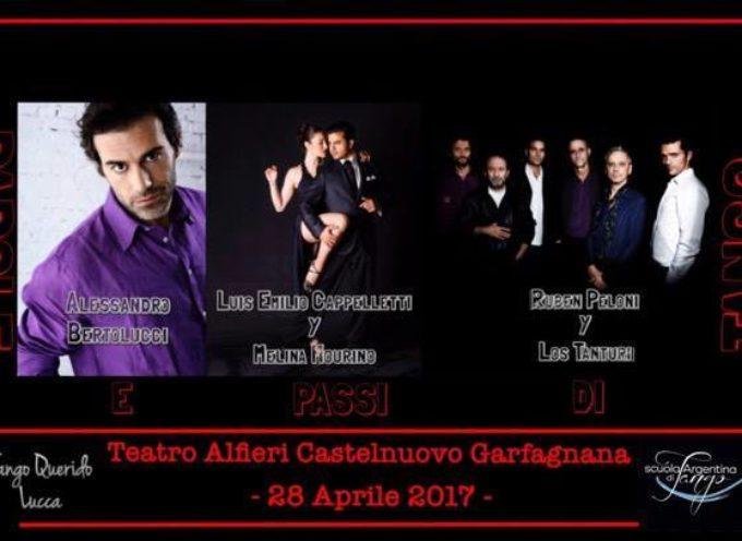 """Un viaggio nel tango e nel """"nuevo"""" Tango di Astor Piazzolla Venerdì 28 aprile Teatro Alfieri di Castelnuovo"""