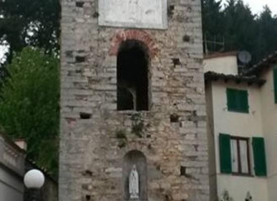 DIECIMO –  SARA' RESTAURATA LA TORRE DI CASTRUCCIO CASTRACANI