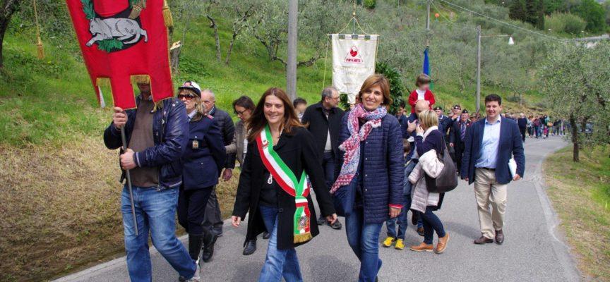 Celebrazione del Comune di Capannori per il 25 aprile