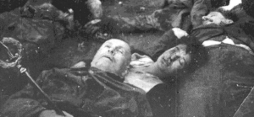 Accadde oggi, 28 Aprile 1945: la Fucilazione di Benito Mussolini, Claretta Petacci e i gerarchi