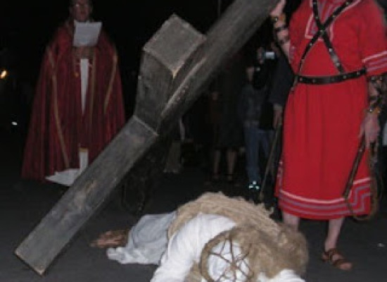 """""""I Crocioni"""" di Castiglione. La Passione di Cristo in Garfagnana"""