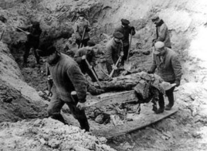 accadde oggi – 13 Aprile 1943, il mondo conosce l'orrore dei massacri della foresta di Katyn