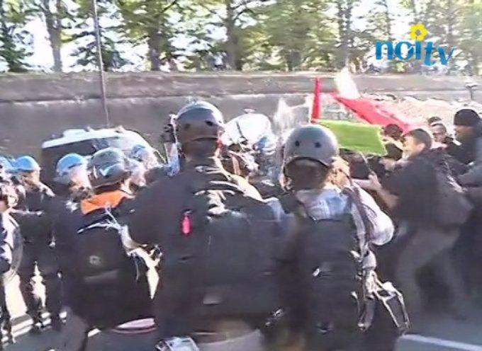 lucca  – G7, scontro tra antagonisti e forze dell'ordine a porta San Jacopo. Il video.