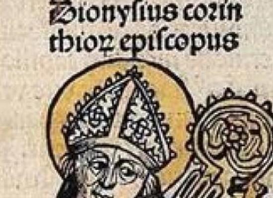 il santo del giorno, 8 aprile SAN DIONIGI DI CORINTO