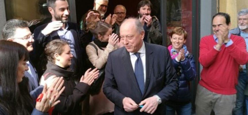 STAMANI INAUGURATA  LA SEDE ELETTORALE  DI ALESSANDRO TAMBELLINI