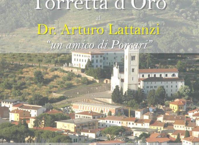 porcari – LA 'TORRETTA D'ORO' AL DOTTOR ARTURO LATTANZI
