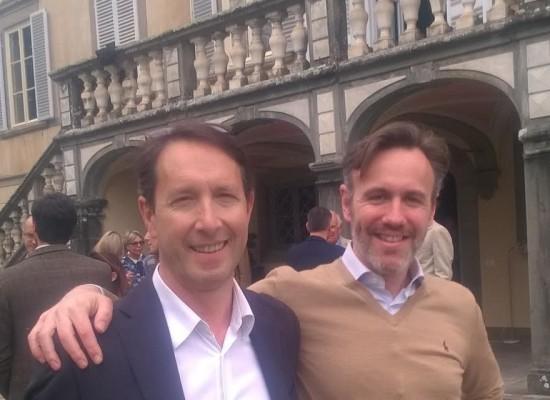 Applausi e partecipazione alla presentazione del candidato Giovanni Silvestrini di SiAmo Lucca
